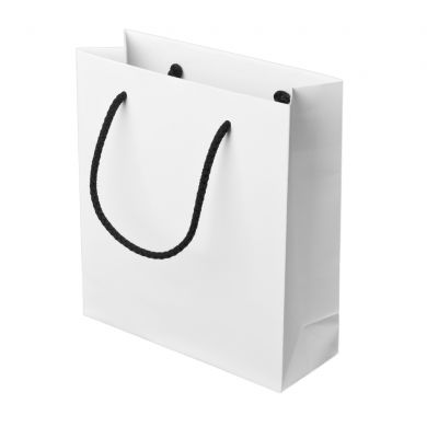 White Paper Bag With Rope Handles 166x18cm